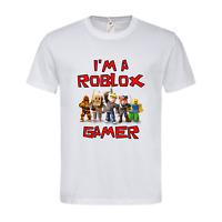 I'm A Roblox Gamer Funny Children's Kids T-Shirt Gamer Gaming Birthday Top Gift