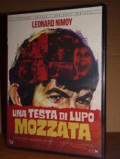 UNA TESTA DI LUPO MOZZATA  DVD Philip Leacock  Leonard Nimoy NUOVO SIGILLATO!!!