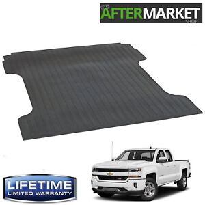 New Heavy Duty Rubber Bed Mat 07-19 GMC Sierra 2500 6.5' Bed  LIFETIME WARRANTY