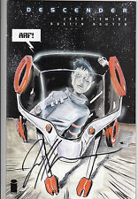 Descender #1 Eh! Variant SIGNED BY Jeff Lemire LIMITED TO 1000 COPIES NM