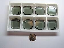 24 PIECES SWAROVSKI CRYSTAL PENDANTS  #6058 25MM BLACK DIAMOND - METRO PENDANTS