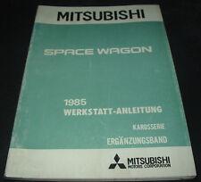 Werkstatthandbuch Mitsubishi Space Wagon Motor Getriebe Bremsen Elektrik 1985
