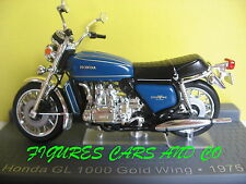 MOTO CLASSIQUE 1/24 HONDA GL 1000 GOLDWING 1975 MOTORRAD MOTORCYCLE