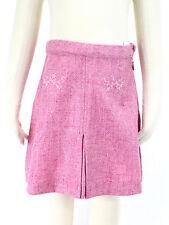 JACADI Girl's Arbitre China Pink Wool Blend Skirt Size 2 Years NWT $58