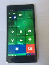 Nokia Lumia 830 - 8GB - WHITE/orange back (Unlocked) Smartphone  good condition