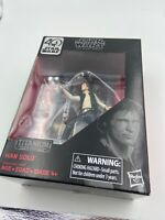 Han Solo Star Wars Black Series 40th Anniversary Titanium Edition Action Figure