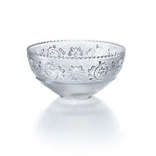 Baccarat Cristallo Arabesque Coppa / bowl size L Clear Crystal