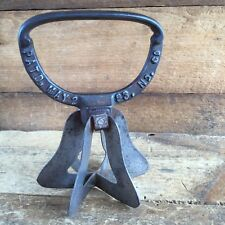Antique 1893 STAR & BELL Cross Kitchen CHOPPER Vintage Old Hand Tool Knife #305
