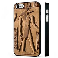 Egyptian Gods Hieroglyphics BLACK PHONE CASE COVER fits iPHONE