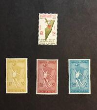 Jordan 1965 VF MLH Sc#499, 500-502