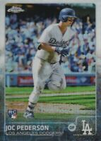 2015 Topps Chrome Baseball Refractors #129 Joc Pederson Los Angeles Dodgers