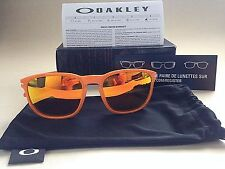 $140 New Authentic Oakley Enduro Sport Sunglasses Fingerprint Orange Mirror Lens