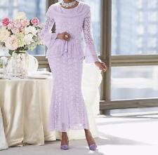 Mother Of Bride Groom Women's Wedding Party dress  Lace Skirt suit plus 22W 2X3X