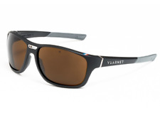 Vuarnet Sunglasses VL192800022182 VL1928 RACING LARGE Black/Grey + Eclipse