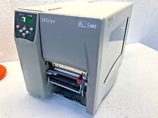Zebra S4M S4M3N-2001-1100D Industrial Label Thermal Printer USB Serial Peeler