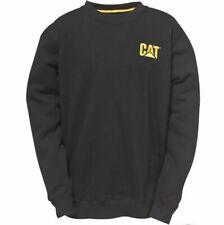 CAT Caterpillar Trademark Crew Sweatshirt Mens Durable Work Jumper 1910752 BNWT