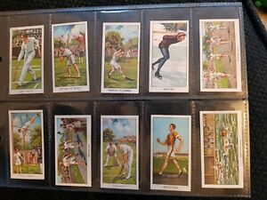 Sports Records - Turf Cigarettes (1925) - Complete Your Set - Buy 2 & Save