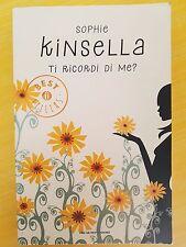 LIBRO SOPHIE KINSELLA - TI RICORDI DI ME? - OSCAR MONDADORI 2011