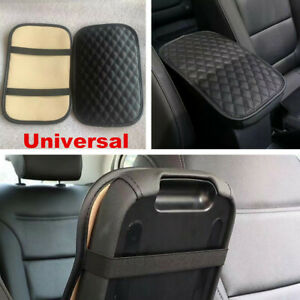 Black Universal Car Accessories Center Console Armrest Cushion Mat Pad Cover