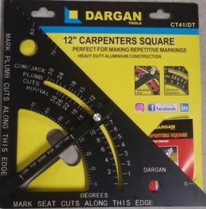 "Dargan 12"" Carpenters Square With Adjustable  Arm CT41/DT"