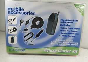 Tracfone Nokia 5100 Series Phone Mobil Accessories Deluxe Starter Kit #ATDSK002
