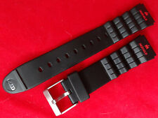 New Old Stock Vintage Black w/Red Timex Ironman Triathlon 18mm Sport Watch Band