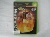 Microsoft Xbox Top Spin Video Game