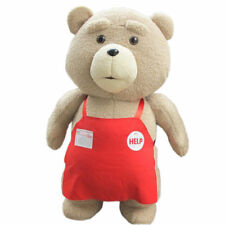 Peluche  TED  Pupazzo  Grande 48 cm , film orso doll teddy bear con grembiule
