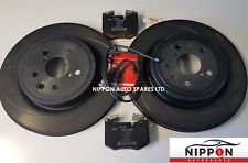 NEW GENUINE LEXUS RCF / GSF 5.0L V8 REAR BRAKE DISCS AND PADS SET 2014+