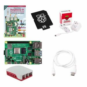 Raspberry Pi Official Pi 4 Essentials Kit - 2GB - New - Ships Tomorrow