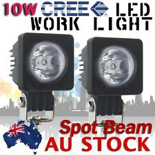 2X 10W Cree LED Work Light Spot Lamp Driving Fog ATV Motorcycle 4WD Boat AU SHIP
