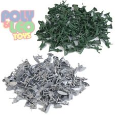 72 Pc Army Men Action Toy Soldiers Military Plastic Action Figure 2 Colors