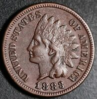 1883 INDIAN HEAD CENT - With LIBERTY - Near XF EF Details