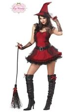 NEWSexy Adult Devil Halloween Womens Eye Candy Mischievous Witch Costume, Large