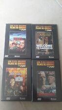 19519 à 19522 // Lot de 4 - Les plus grands Films de guerre - Dvd en tbe