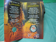 2001 Colourized Spirit of Canada Canadian Quarter ($0.25) **SEALED**