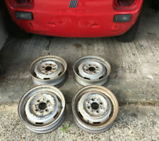 Fiat 126 Used Steel Wheel 12 inch SET of 4