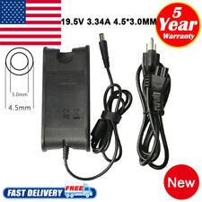 65W AC Adapter Charger Power Cord For Dell Inspiron 14 (5458) 15 (5559) Laptop