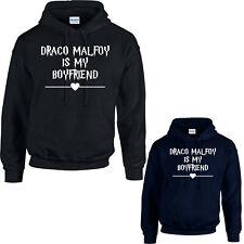 Draco Malfoy Is My Boyfriend Hoodie, Harry Potter Hogwarts Adventure Love Gift