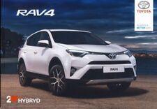 Toyota RAV 4 & RAV 4 Hybrid 05 / 2017 catalogue brochure