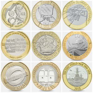 £2 Coin UK Two Pound Claim Bill of Rights Commonwealth Olympics Rare Choose Year