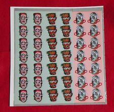 1960s Vari-Vue Flicker Monster Uncut Proof Sheet