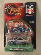 Winner's Circle -  NFL , Barry Sanders  '99 Mustang  1:64 Scale  (318MH)  56649