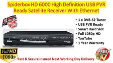 Spiderbox HD 6000 High Definition Satellite Receiver Free UK Mainland Delivery