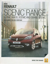Brochure: Renault Scenic - 2013 (Includes XMod, 5-seat and Grand Scenic)