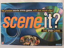 Scene it? Original 2003 Movie Trivia Family Board Game Mattel DVD Clips