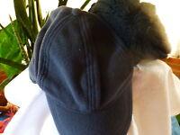 lot casquette  polaire et bonnet noir laine ,polaire  !!!