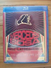 Mercedes Sosa The voice of latin America BLU-RAY NEW la voz de Latinoamerica