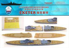 Shipyard 1/700 700089 Wood Deck HMS Heavy Cruiser Exeter for Aoshima