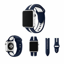 Silicone Wrist Strap Band Bracelet Replacement For Apple Watch  iWatch 3 38/42mm